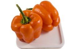 Le paprika doux délicieux Photo stock