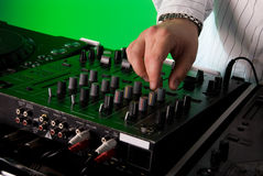 Le paquet du DJ Photographie stock