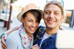 Le par med kameran royaltyfri fotografi