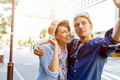 Le par med kameran royaltyfri bild