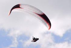 Le parachutiste Image libre de droits