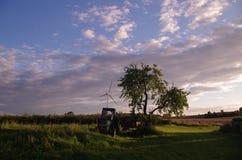 Le paradis rural Photo stock