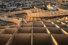Le parasol de Metropol, soies De Séville, Espagne Photos stock