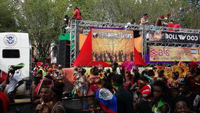 Le 2014 parate dell'India Occidentale 13 di giorno Immagini Stock Libere da Diritti