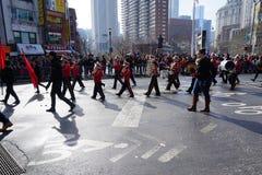 Le 2015 parate lunari cinesi 24 del nuovo anno Fotografia Stock Libera da Diritti