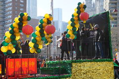 Le 2015 parate lunari cinesi 151 del nuovo anno Fotografia Stock Libera da Diritti