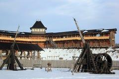 Le parc à thème de Kievan Rus dans Kopachiv, Ukraine photographie stock