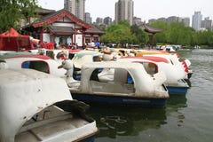 Le parc aquatique Image libre de droits