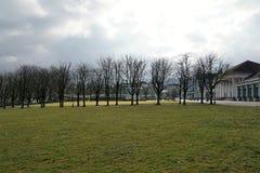 Le parc baden dedans baden en Allemagne Image stock
