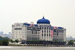 Le parc d'affaires de bord de mer de mines, Malaisie images stock
