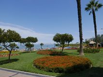 Le parc d'amour dans Miraflores, Lima Image stock