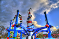 le parc d'attractions Photographie stock libre de droits
