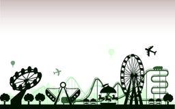 le parc d'attractions Images stock