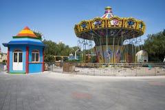 Le parc d'attractions, architecture moderne Photos stock