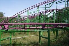 Le parc d'attractions, architecture moderne Image libre de droits