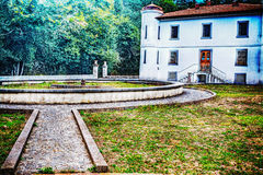 Le parc d'une vieille villa a établi fin 1800 s Photo libre de droits