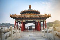 Le parc de Beihai est un jardin impérial photo stock