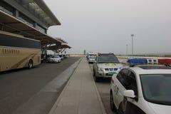 Le parc de l'aéroport de Longjia Images libres de droits