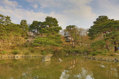 Le parc de Maruyama a localisé Yasaka voisin shring au printemps la saison Photos stock