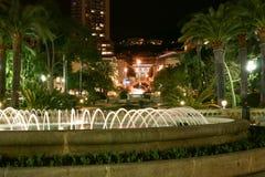 Le parc de soirée Image libre de droits
