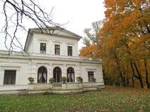 Le parc de Sveksna, villa «Genowefa» Image libre de droits