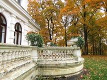 Le parc de Sveksna, villa «Genowefa» Photo libre de droits