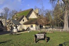 Le parc du château de Versailles Photographie stock libre de droits