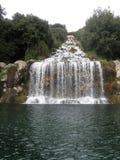 Le parc du palais royal de Caserte Photo libre de droits