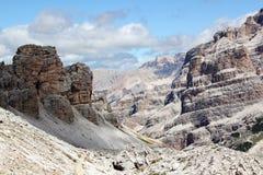 Le parc national de dolomites Images libres de droits