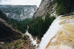 Le parc national de Yosemite est un parc national des Etats-Unis Photographie stock libre de droits