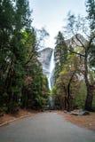 Le parc national de Yosemite est un parc national des Etats-Unis Image libre de droits