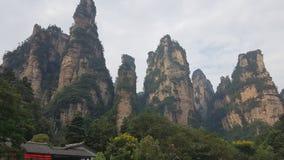 Le parc national de Zhangjiajie photos libres de droits
