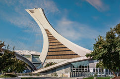 Le parc olympique, Montréal Photographie stock libre de droits