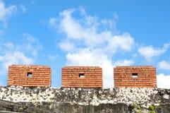 Le pareti antiche della città Fotografia Stock