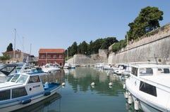 Le pareti della Dalmazia zadar Croazia Europa Fotografia Stock