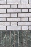 Le pareti ed il grey di verde malachite per i precedenti Fotografia Stock