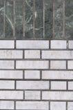 Le pareti ed il grey di verde malachite per i precedenti Immagini Stock