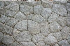 Le pareti sono decorate con la pietra naturale Immagine Stock