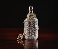 Le parfum et les bijoux des femmes Photographie stock libre de droits