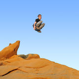 Le Parkour, Free Running, Royalty Free Stock Image