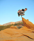 Le Parkour, Free Running, Stock Photo