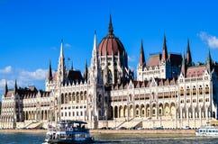 Le Parlement à Budapest Photos libres de droits