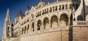Le Parlement à Budapest Photos stock