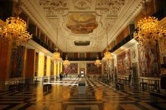 le parlement à la maison danois de palais de christiansborg Images stock