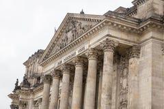 Le parlement allemand, bâtiment de Reichstag à Berlin, Allemagne photo libre de droits