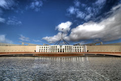 Le Parlement australien renferment Photo stock
