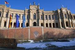 Le Parlement bavarois à Munich Photographie stock libre de droits