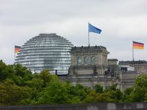 Le Parlement ? Berlin image stock