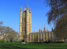 Le Parlement britannique Images libres de droits