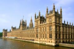le parlement britannique de constructions Images libres de droits